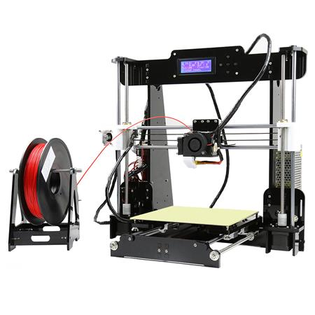 Impresora 3d Anet A8 Fdm Kit Diy 22x22mm Sd Lcd Pla Abs