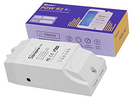 Sonoff Pow R2 Smart Switch Medidor Consumo Wifi Domotica