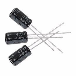 Pack X 5 Capacitor Electrolitico 47uf 50v 105c 6.3 X 12mm